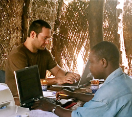 Blogging in the field...of international development
